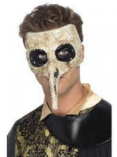 Venetian Plague Doctor Eye Mask